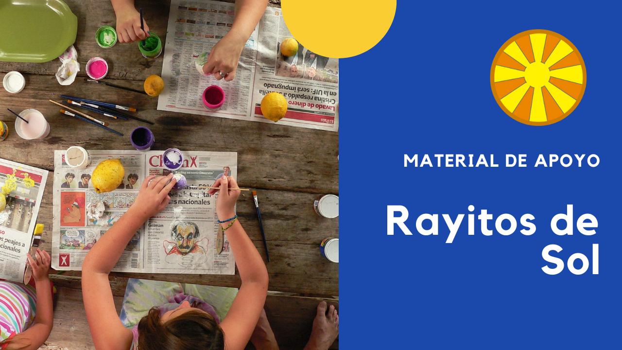 Material Rayitos de Sol